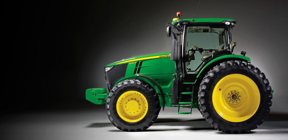 john deere 7r series tractors. Black Bedroom Furniture Sets. Home Design Ideas