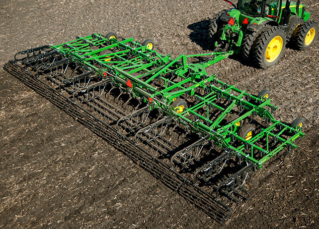John Deeres New Field Cultivators and Mulch Finishers