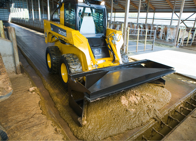 MS96 Material/Manure Scraper Attachment