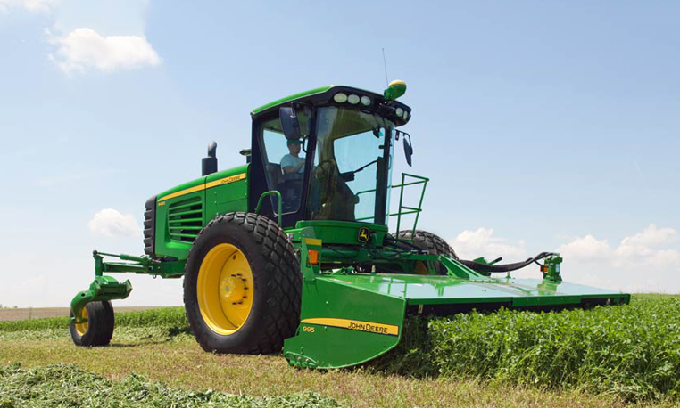 Self Propelled Hay Windrowers