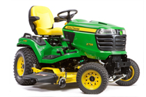 Follow link to Riding Mowers page.