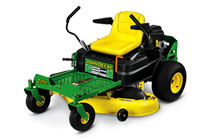 Follow link to Residential ZTrak™ Zero-Turn Mowers page.